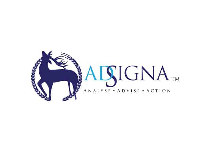 AdSigna Logo Design by Daniel Sim