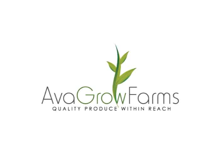 Ava Grow Farms Logo Design by Daniel Sim