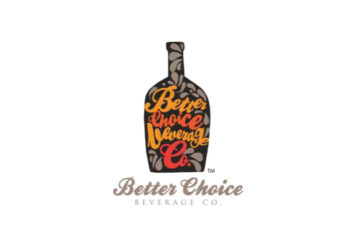 Better Choice Beverage Logo Design by Daniel Sim