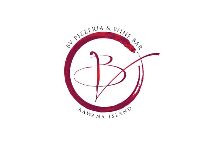 BV Pizzeria and Wine Bar Logo design by Daniel Sim