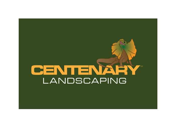 Centenary Landscaping Logo Design by Daniel Sim