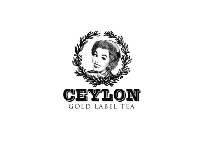 Ceylon Gold Label Tea Logo Design by Daniel Sim