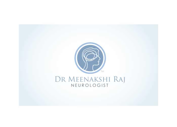 Dr. Meenakshi Raj Neurologist Logo design by Daniel Sim