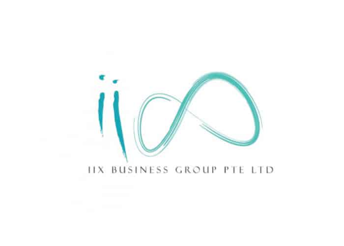 IIX Business Group PTE LTD Logo Design by Daniel Sim