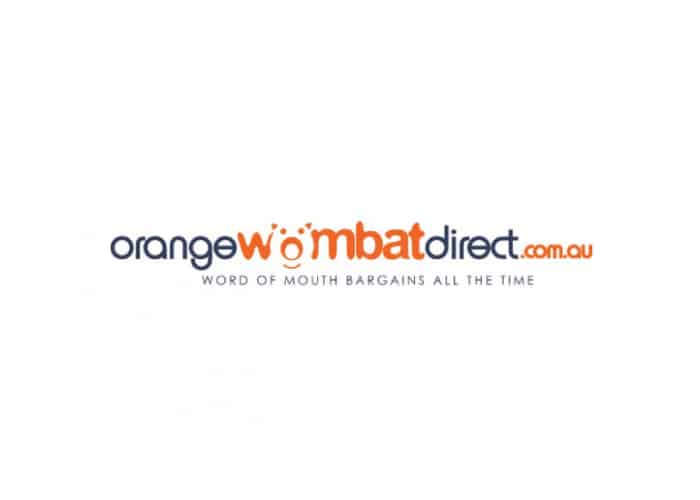 Orange Wombat Direct Logo design by Daniel Sim