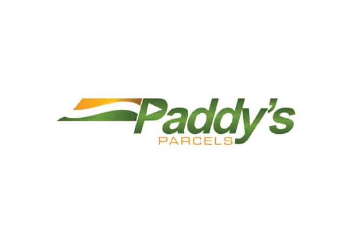 Paddy's Parcels Logo Design by Daniel Sim