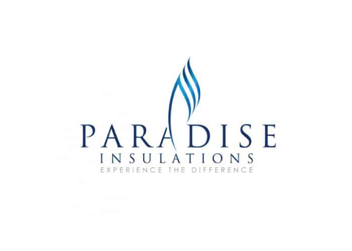 Paradise Insulations Logo Design by Daniel Sim