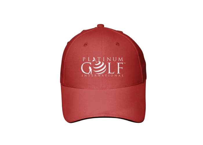 Platinum Golf Logo design by Daniel Sim
