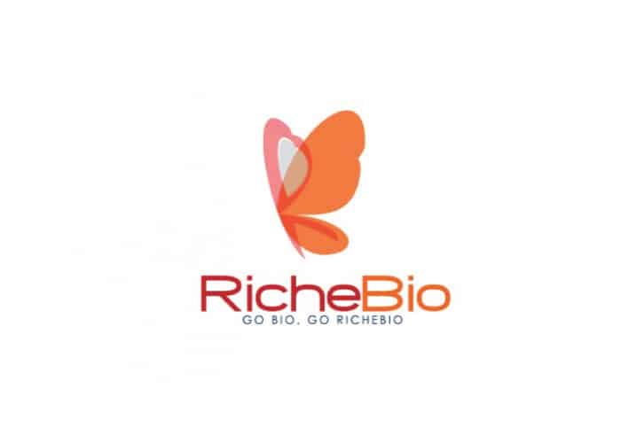 Riche Bio Logo design by Daniel Sim