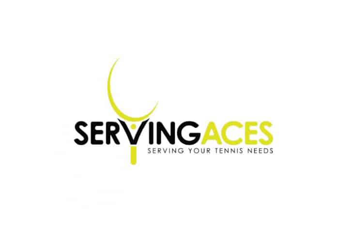 Serving Aces Logo Design by Daniel Sim