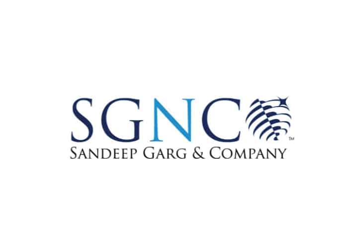 Sandeep Garg and Company Logo Design by Daniel Sim