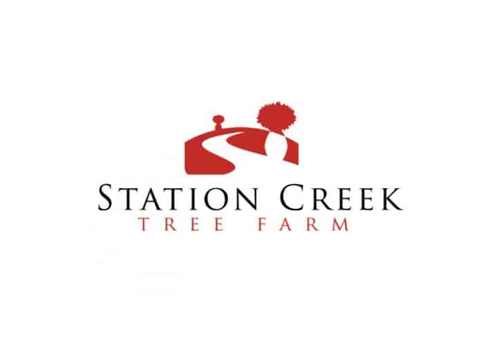 Station Creek Tree Farm Logo Design by Daniel Sim